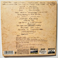 Neil Young - Peace Trail - Back Cover