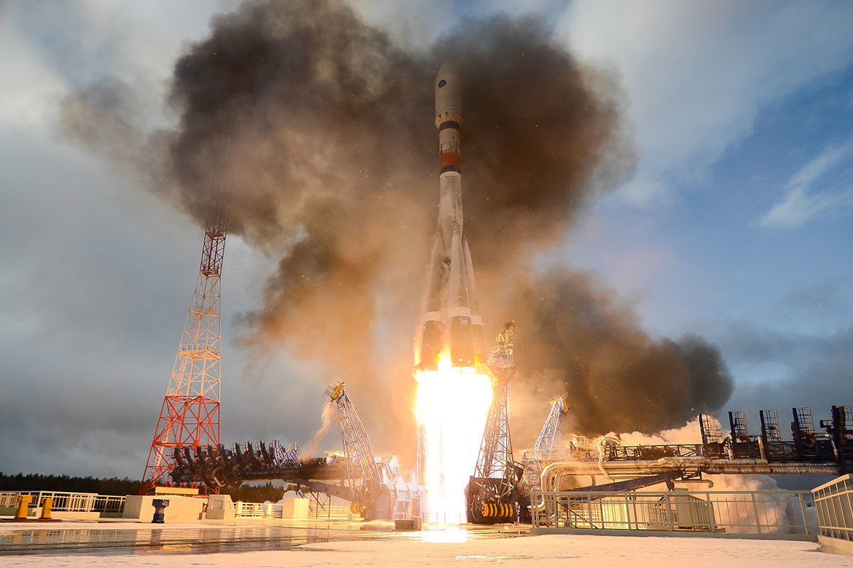Russia Launches Satellite To Enhance Military