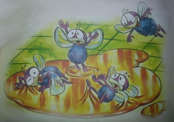 fabula las moscas
