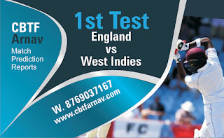 Today match prediction ball by ball International Test England vs West Indies 1st 100% sure Tips✓Who will win WI vs Eng Match astrology