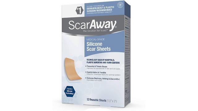 Scar Away Silicon Scar Sheets
