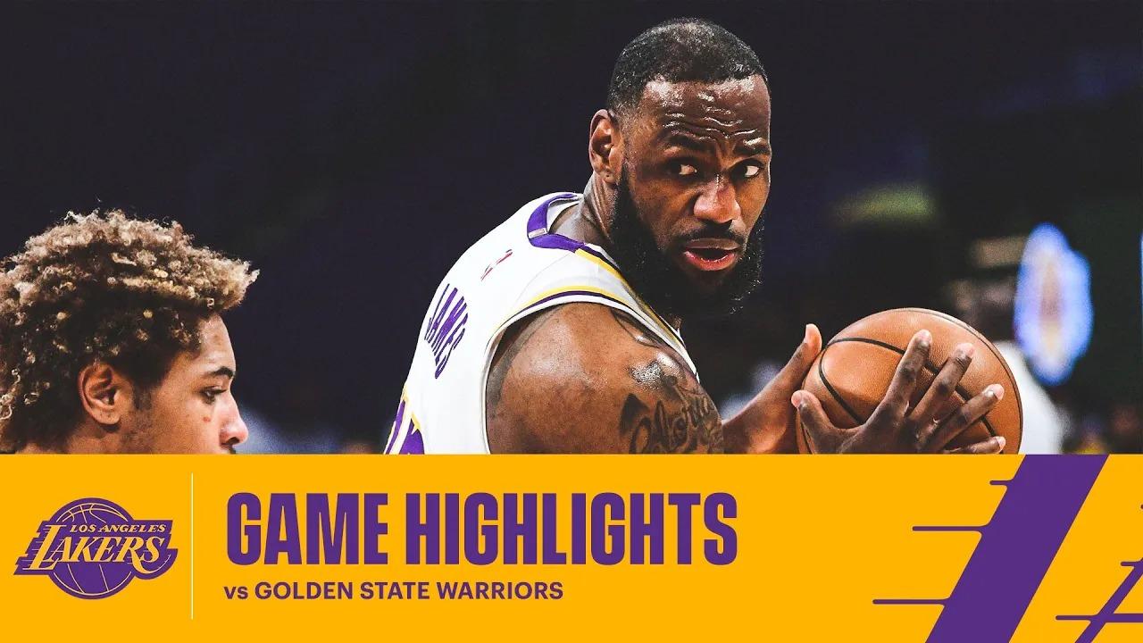 LeBron James 19pts 6reb 4ast vs GSW   February 28, 2021   2020-21 NBA Season