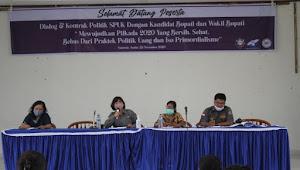 Suara Perempuan Untuk Keadilan Gelar Dialog dengan Paslon Bupati Samosir