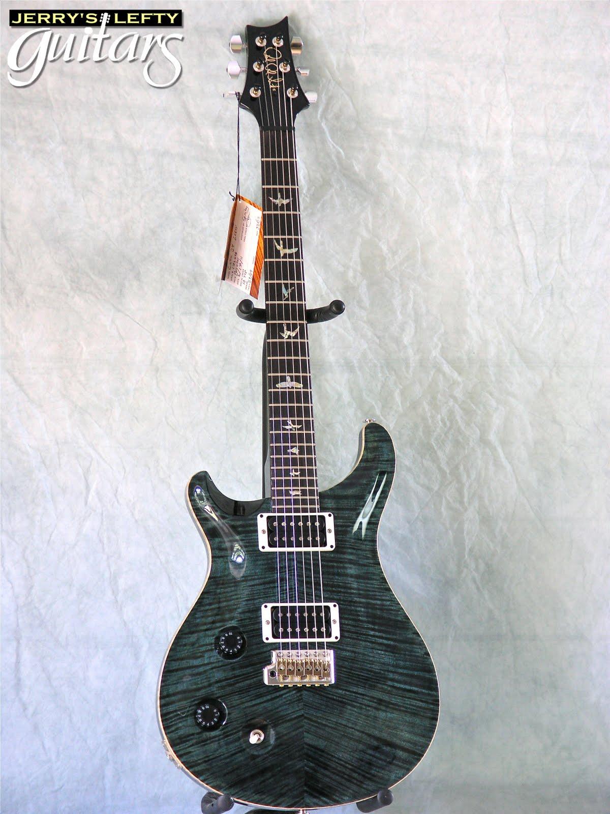 jerry 39 s lefty guitars newest guitar arrivals updated weekly prs custom 22 black slate left. Black Bedroom Furniture Sets. Home Design Ideas