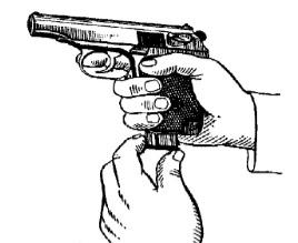 збирання пістолета макарова