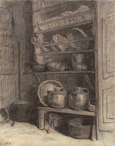 Жан Франсуа Милле - Комод. 1854