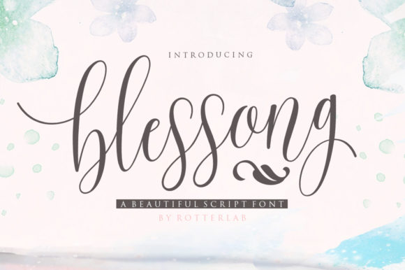 Blessong Font