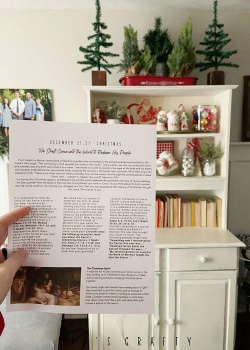 Come Follow Me study at home Christmas