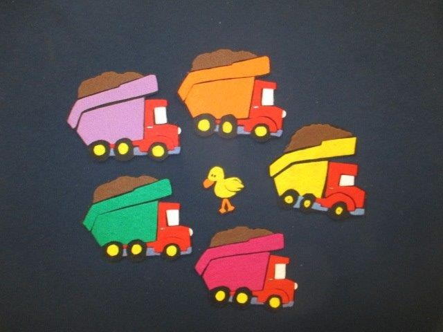 Flannel Board Little Duck/Truck