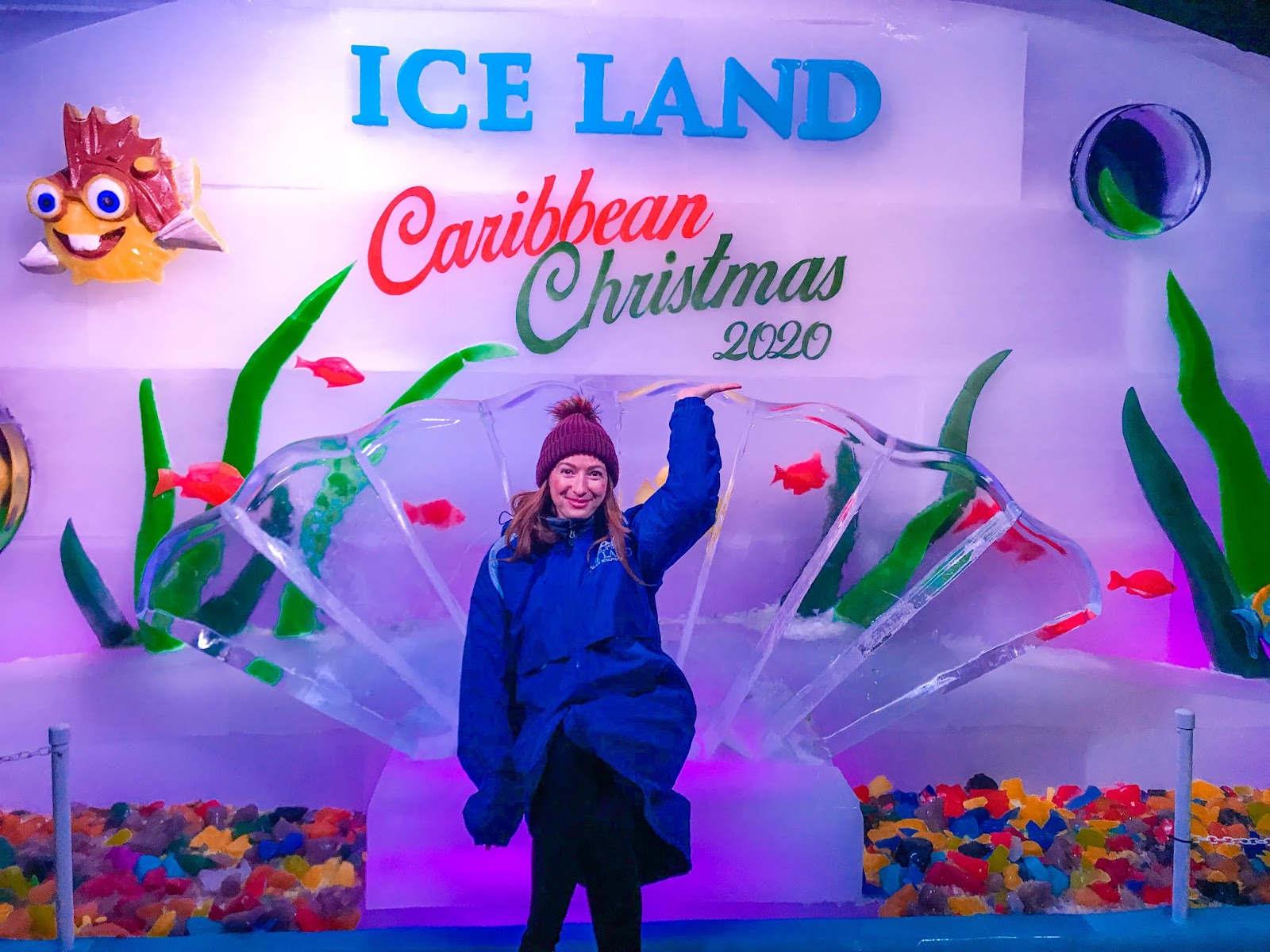 Ice Land at Moody Gardens
