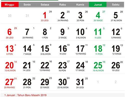 Jadwal Puasa Lengkap 2019 Berdasarkan Kalender Hijriyah ...