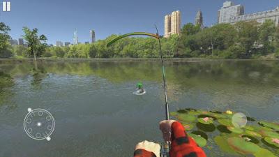 لعبة محاكاة صيد الأسماك
