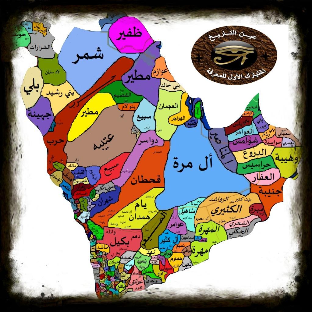 أصل العرب ونسب القبائل العربية عين التاريخ