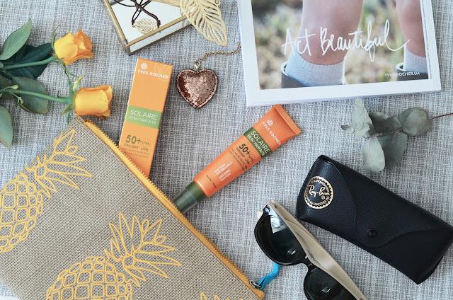 Матирующий солнцезащитный крем Yves Rocher Very high protection anty-shine care  50 SPF