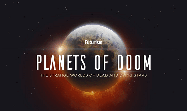 Planets Of Doom: The Strange Worlds Of Dead And Dying Stars