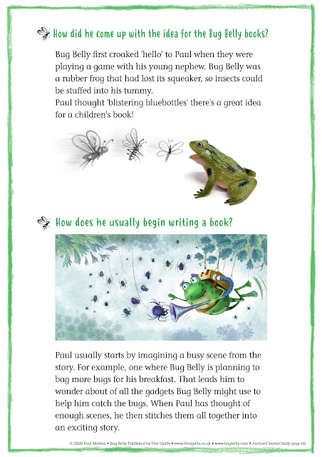 pdf sheet for author Paul Morton