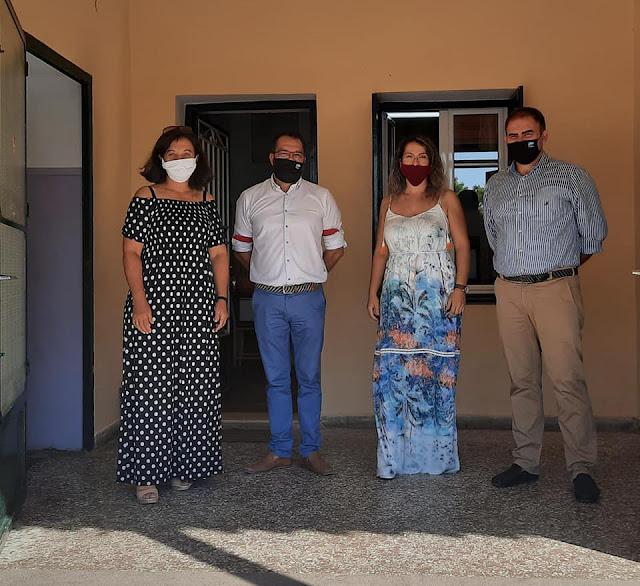 Επίσκεψη του Δημάρχου Επιδαύρου στα σχολεία του Δήμου