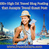 Top 400+ High DA Travel Blog Posting Sites that Accepts Travel Guest Post from Travel Writers