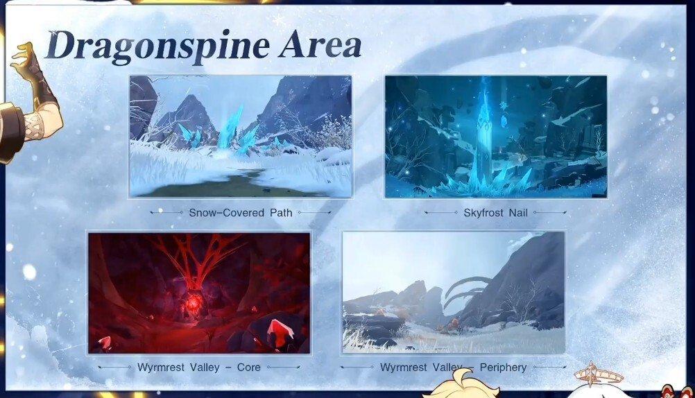 Dragonspine Mountains Screenshot 1