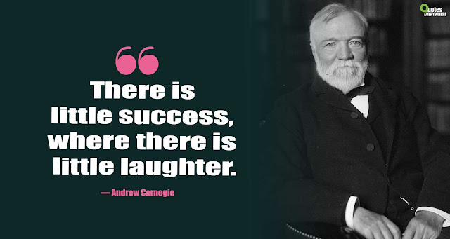 Andrew Carnegie Famous Quotes
