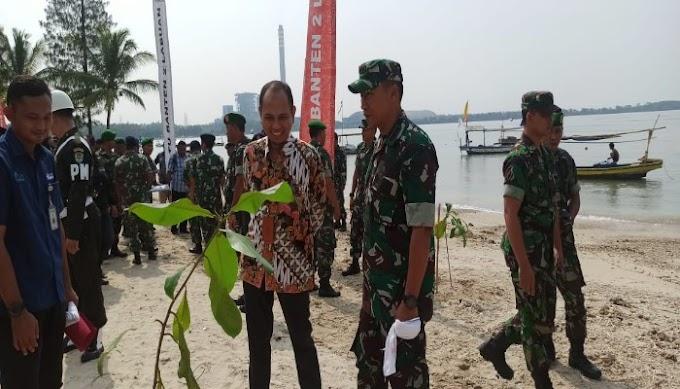 Hari Juang TNI AD, Korem 064/MY Besama PT. Indonesia Power Tanaman 5000 Pohon Katapang
