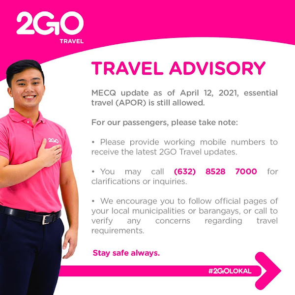 2GO Travel operates nonstop voyages to all ports of call amid MECQ