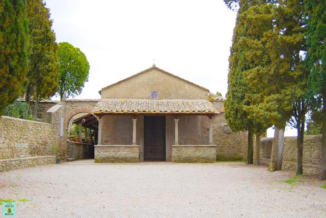 Iglesia de San Niccolo en Cortona, Toscana