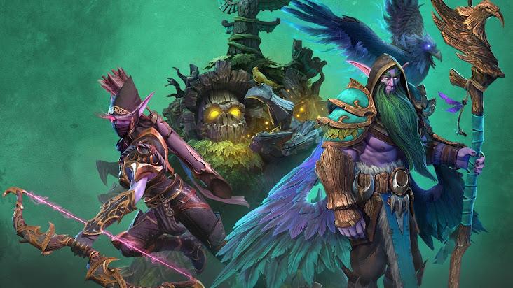 """Chiêm ngưỡng """"bộ cánh"""" mới của các hero phe Night Elf trong Reforged"""