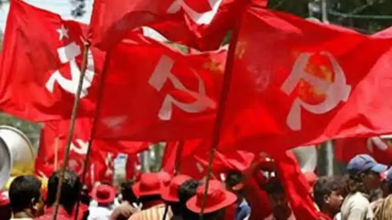 Kerala Assembly Election 2021 CPM Flag