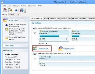 Macrium Reflect to backup and clone disks