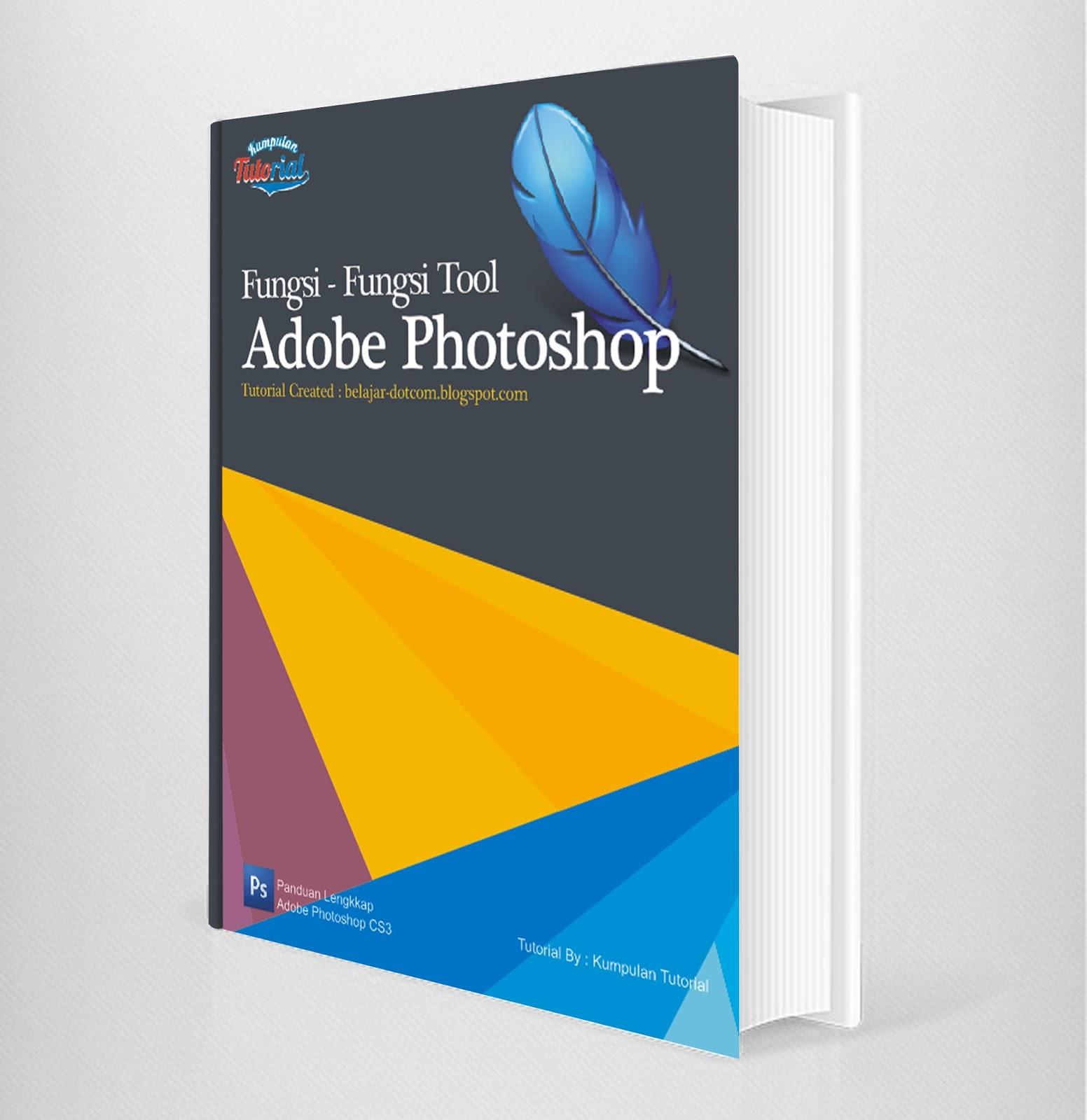 Corel Draw Book Cover Design Tutorial : Cara membuat desain cover buku dengan coreldraw