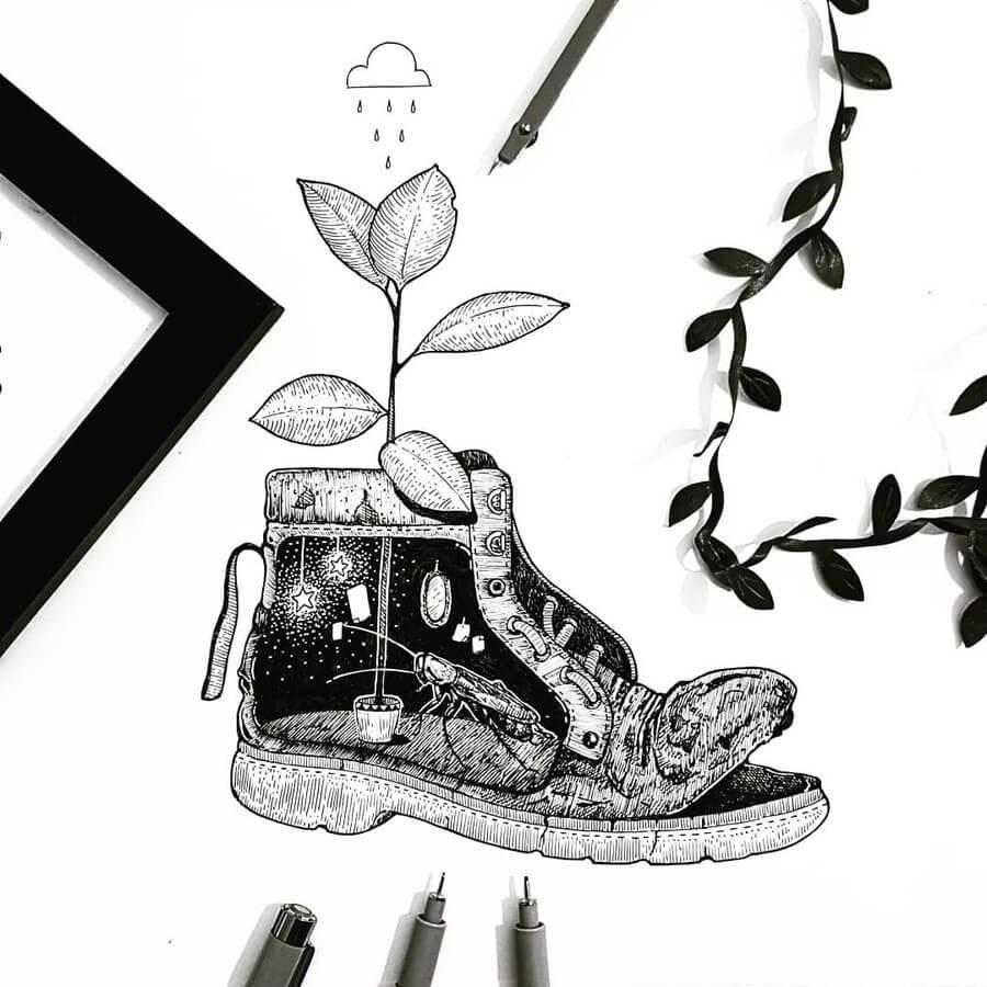 11-Cricket-shoes-Juan-Velilla-Drawings-www-designstack-co