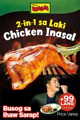 For Busog sa Ihaw Sarap meal, go to Mang Inasal!