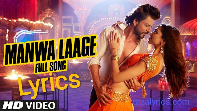 Manwa Laage lyrics - Happy New year | Shahrukh Khan
