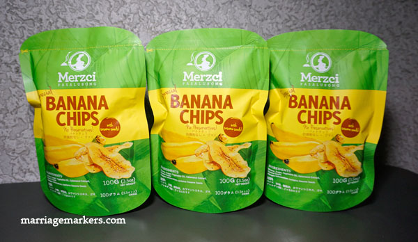 Merzci Special Banana Chips - Bacolod pasalubong - Merzci pasalubong - Bacolod City - family snacks - healthy snacks - banana chips and sesame seeds - Bacolod blogger