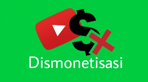 Penyebab chanel youtube dismonetisasi