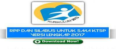 RPP Dan Silabus Untuk SMA KTSP Versi Lengkap 2017