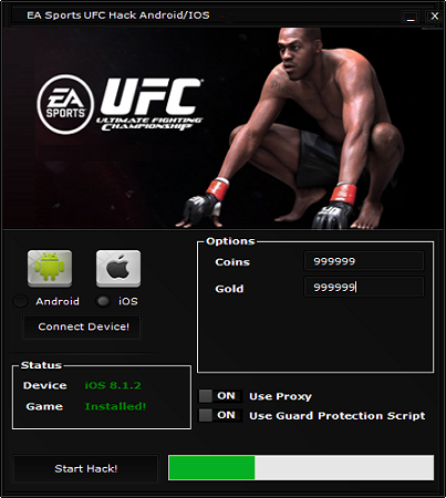 Free-Key-Hack: EA Sports UFC Hack Cheat Tool for Android/iOS