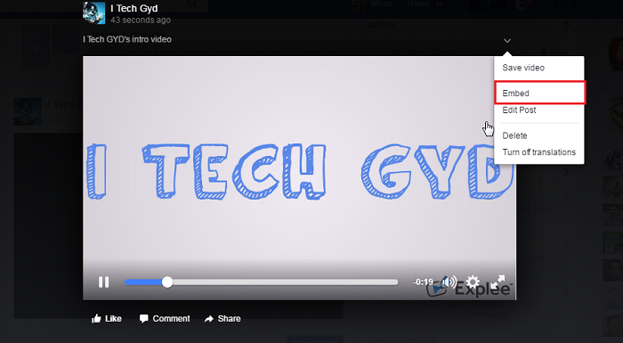 How to embed youtube facebook dailymotion etc videos in blog posts how to embed youtube facebook dailymotion vimeo videos in blog posts ccuart Choice Image