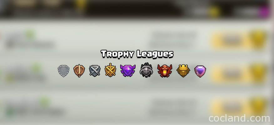 Daftar Trophy Leagues dan Win Bonus di Clash of Clans ...