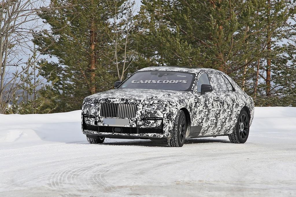 Xem trước thiết kế Rolls-Royce Ghost 2021