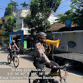 Patroli Sepeda Sabhara Polrestabes Bandung Berikan Himbauan Covid 19