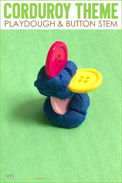 Corduroy: Playdough & Button STEM