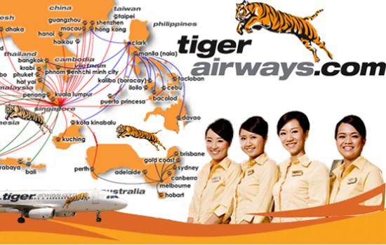 Mua vé máy bay Tiger Air Việt Nam ở đâu?