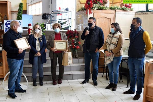 Villa de Mazo reconoce a Andreina García y a Víctor García por su aportación a la artesanía local