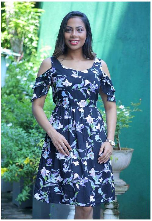 Lilly Joy Ruffle Sleeve Dress