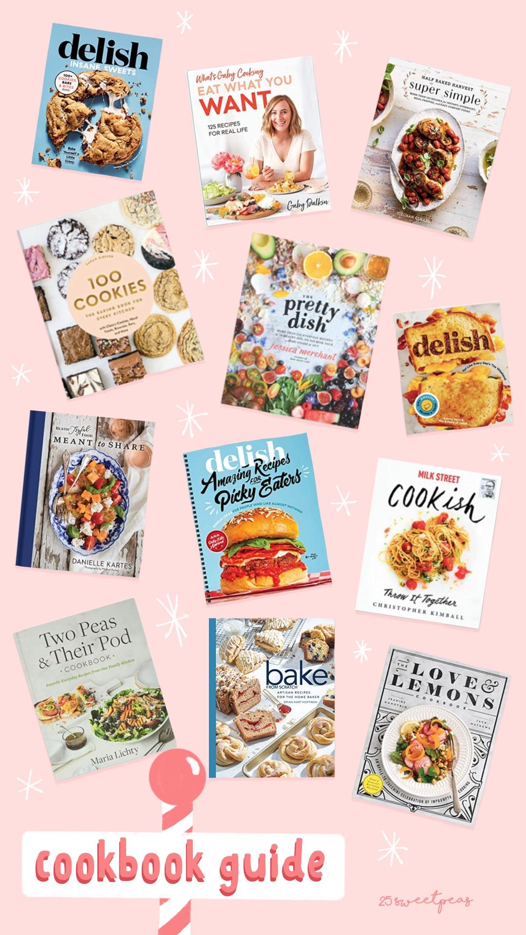 25 Sweetpeas Cookbook Gift Guide |  Christmas 2020