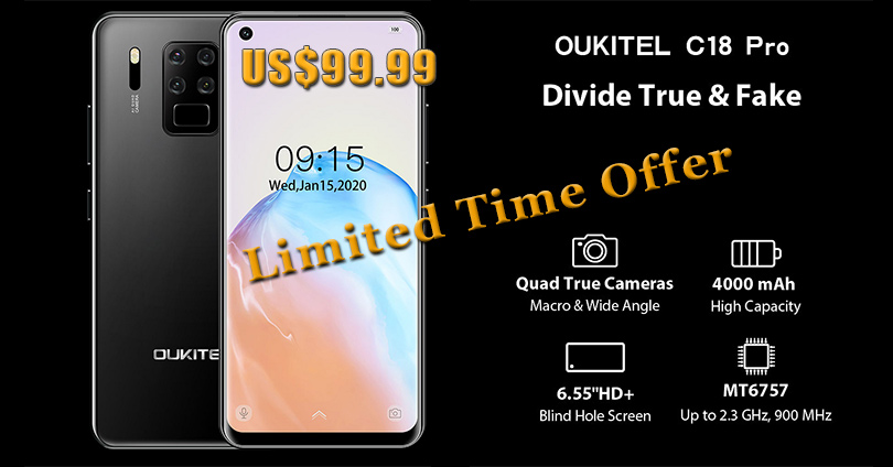 OUKITEL C18 Pro - sale - offer