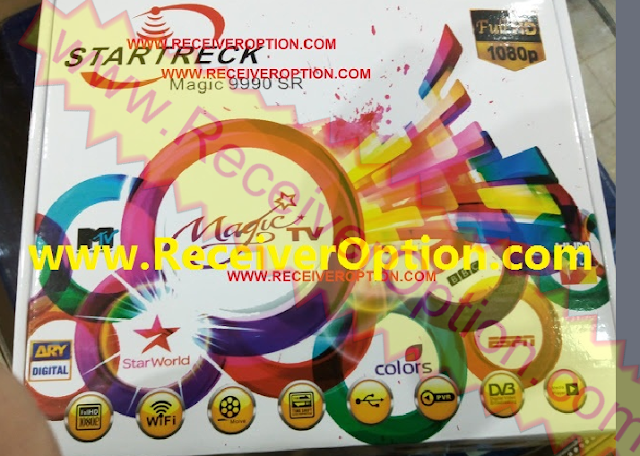 STARTRECK MAGIC 9990 SR HD RECEIVER TEN SPORTS OK NEW SOFTWARE 19 JULY