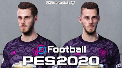 PES 2020 Faces David de Gea by Alief